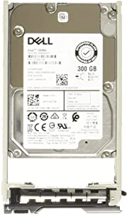 Dell 300GB 15K 12Gbps SAS 2.5 HDD 512n (NCT9F) (Renewed)