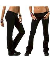 Fitness Etc. Women's Stretch Supplex Exercise Pant Wicks Moisture Away