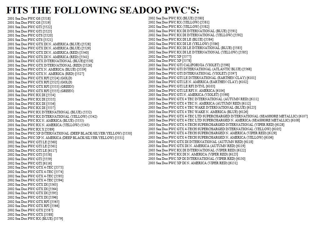 Amazon.com: SeaDoo Tapón de vaciado OEM # 292000187 jetboat ...