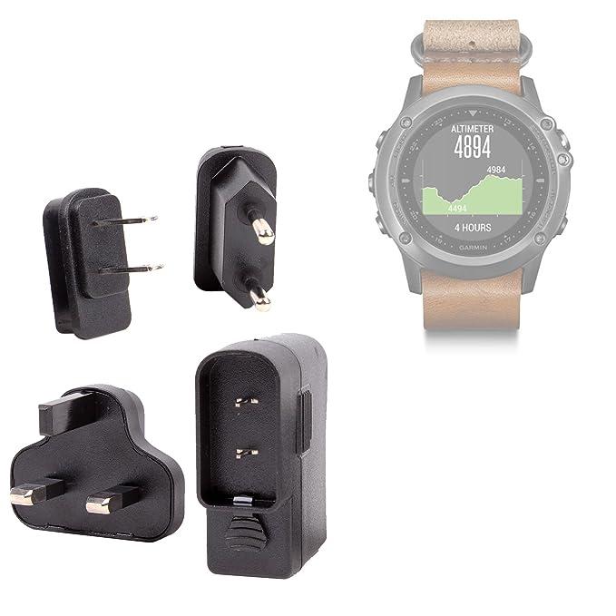 DURAGADGET Kit De Adaptadores con Cargador para Smartwatch Garmin ...