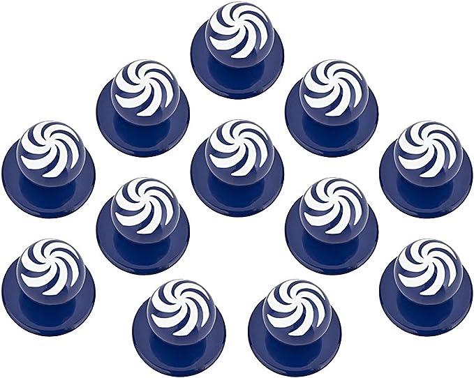 Grevotex Lot de 12 boutons pour veste de cuisine