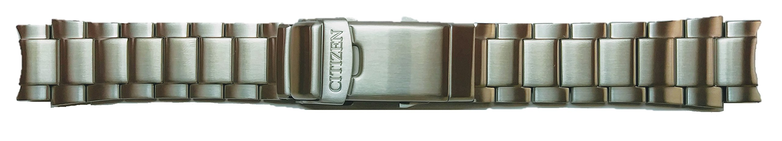 59-S06105 ORIGINAL GENUINE Citizen Promaster Silver Tone Stainless Steel Watch Band for Men's Dive Watch BN0150-61E, BN0150-87E, BN0156-56E, BN0150-10E, BN0156-05E, BN0150-28E, BN0151-09L