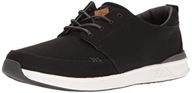 Reef Herren Rover Low Black/White Sneaker