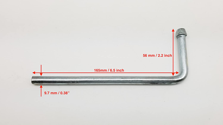 0.47 7 Holes Yellow Hole Size 12mm Toyota Estima Alphard for Nissan Elgrand Autobahn88 Universal Exhaust Muffler Hanger Bushing