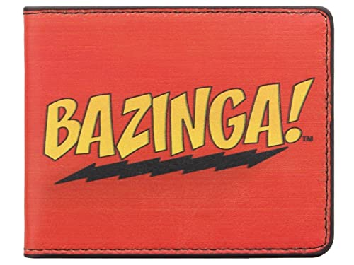 The Big Bang Theory - Cartera para hombre unisex Rojo rojo: Amazon.es: Zapatos y complementos