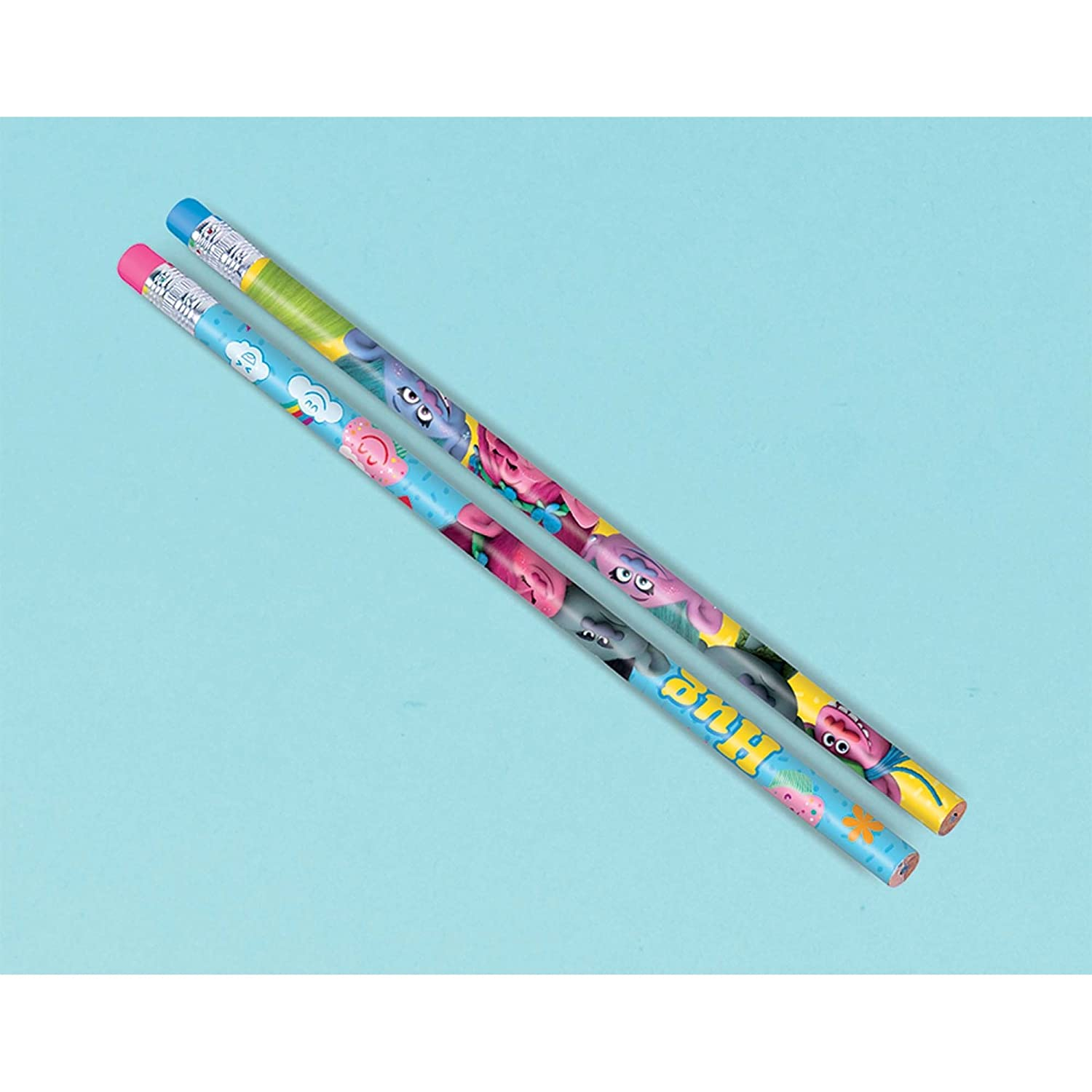 Amscan Pencils | Trolls Collection | Party Accessory