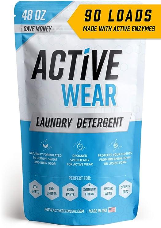Detergente para ropa deportiva y atlética, sin perfume, de ...