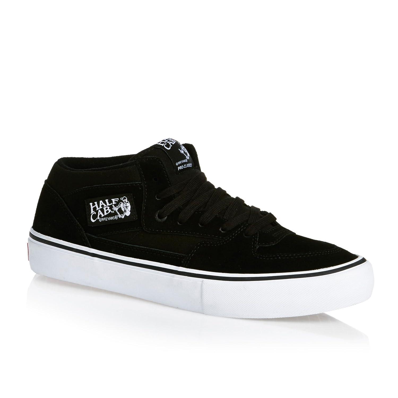 Vans Half Cab Pro Skate Shoes B01MQTXB5A 11.5 D(M) US|Black/Black/White