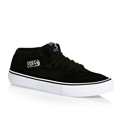 a90d9d1509 Vans Half Cab Pro Black Black White Shoe VA38CPB8C  Amazon.co.uk ...