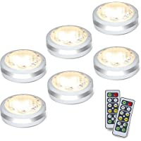 Puck Lights with Remote,Starxing Wireless Led Puck Lights Battery Operated,Led Lights with Remote Control,LED Under…