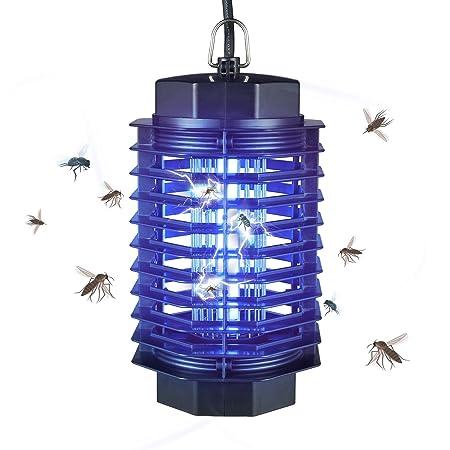 AUSHEN Lampade elettriche uccisore di zanzare con cavo USB UV di insetti 6