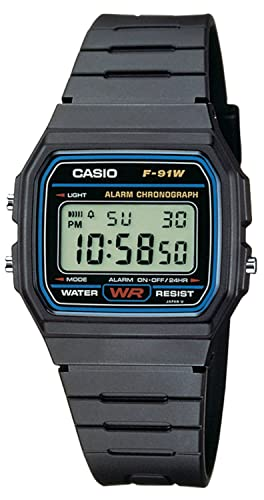 3df350bf7 Amazon.com: casio Watch (Model: F-91W-1: Watches
