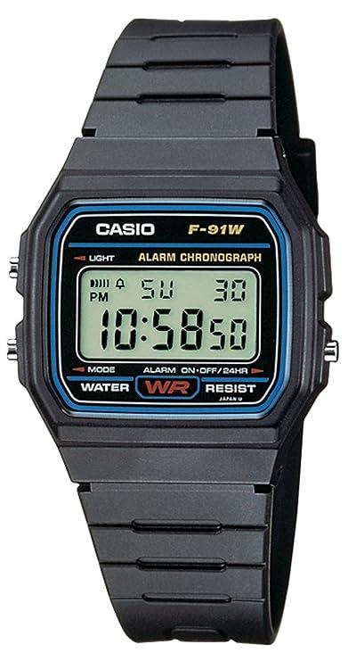 831684642747 Casio Reloj de pulsera Unisex F-91W-1YER  Amazon.es  Relojes