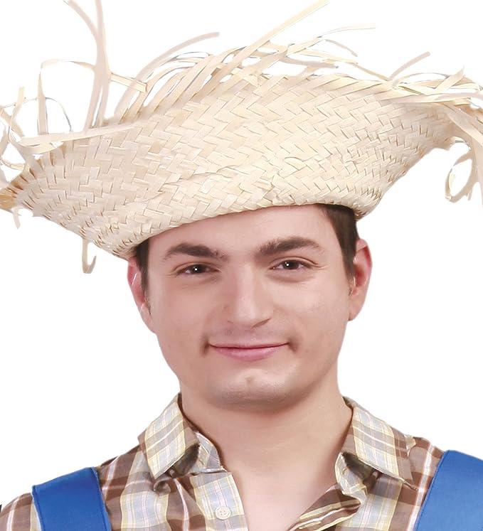 Guirca- Sombrero paja desflecado, u (13622.0): Amazon.es: Juguetes ...