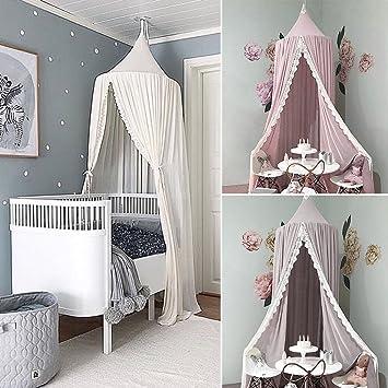 ENFANTS Ciel de lit moustiquaire en mousseline Princesse Jeux pour ...