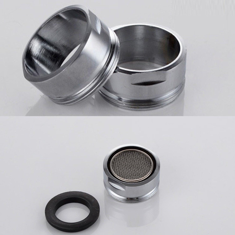 VABNEER 5 piezas Filtro grifo de accesorios de grifo Difusor Filtro grifo de ahorro de agua con junta Para cocina y ba/ño