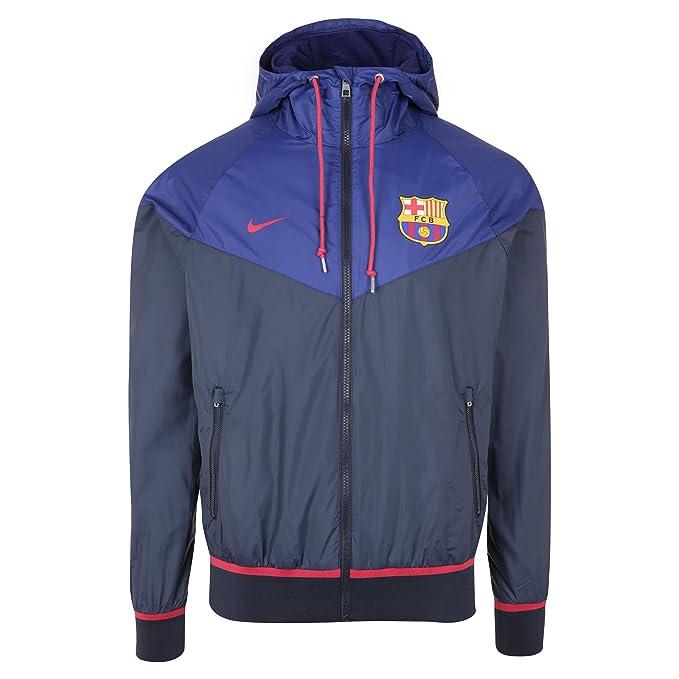 Nike FCB Auth Windrunner - Chaqueta Fútbol Club Barcelona ...