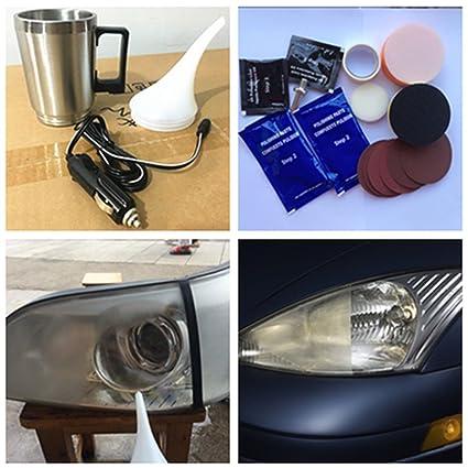 Amazon Com Fidgetfidget Car Headlight Lens Restoration Tool 12v