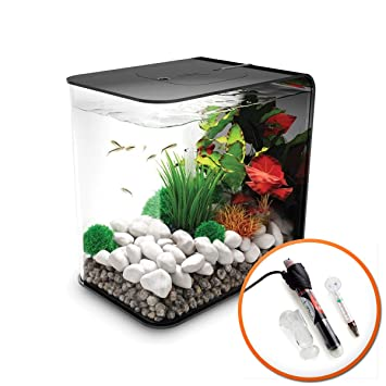 biOrb flujo 15L negro Tropical Acuario con iluminación LED y calefactor): Amazon.es: Productos para mascotas