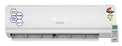 Mitashi 1.5 Ton 3 Star Inverter Split AC  Copper, INA318K50, White  Air Conditioners