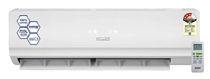ac458b9f666 Image Unavailable. Image not available for. Colour  Mitashi 1.5 Ton 3 Star  Inverter Split AC ...
