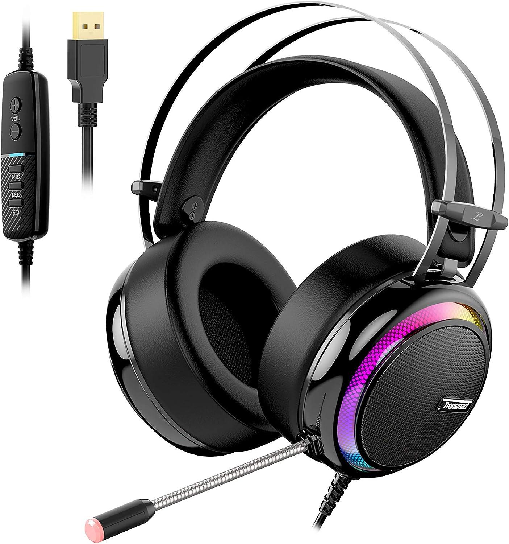Tronsmart Auriculares Gaming Sonido Envolvente 7.1