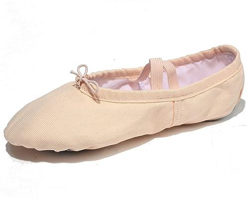 X2X Zapatillas de Ballet para Mujer Clásico Zapatos Danza: Amazon.es: Zapatos y complementos
