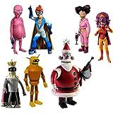 "Toynami Futurama ""Robot Santa Build-A-Bot"" Action Figure Set"