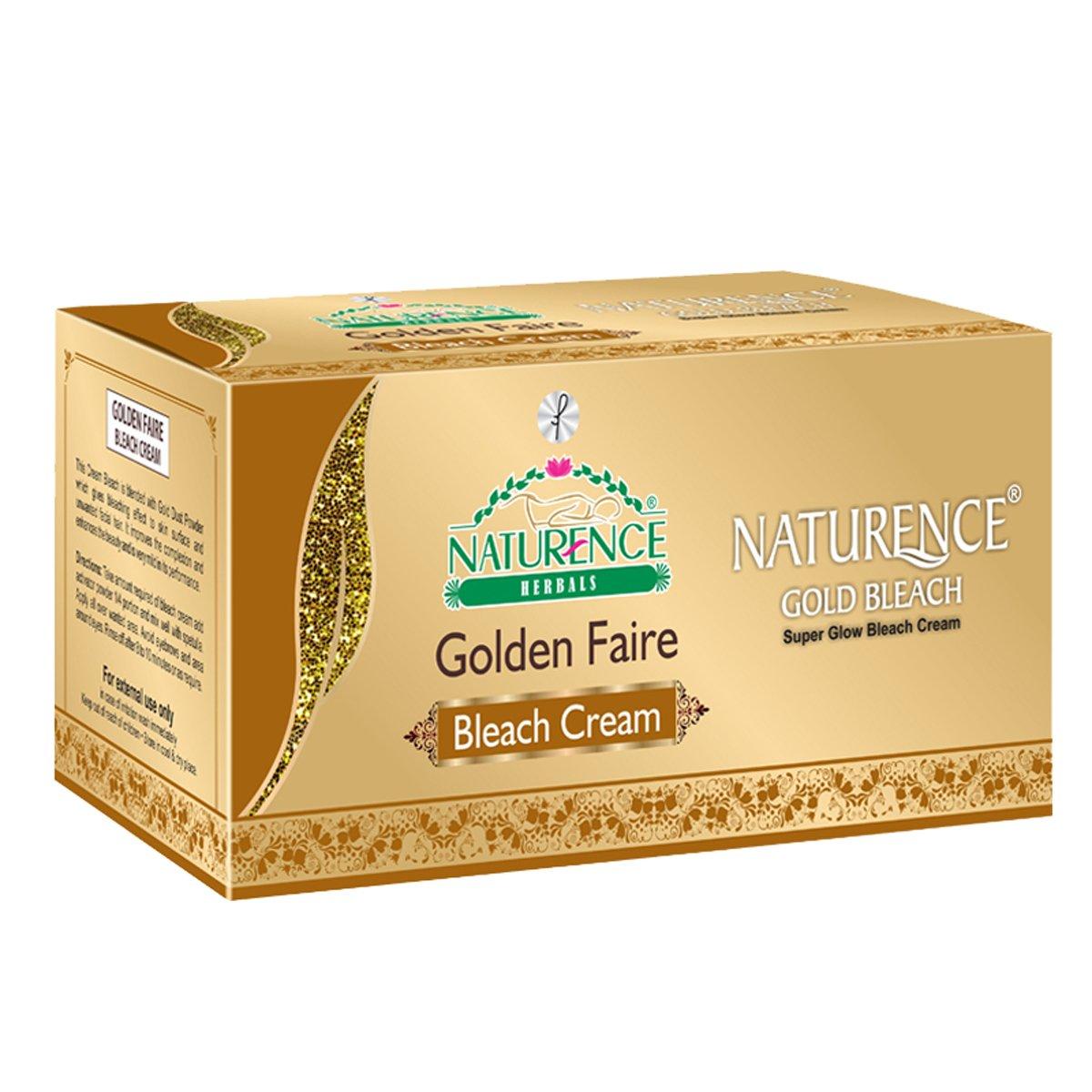 Naturence Herbals Golden Faire Bleach Cream, 200gm