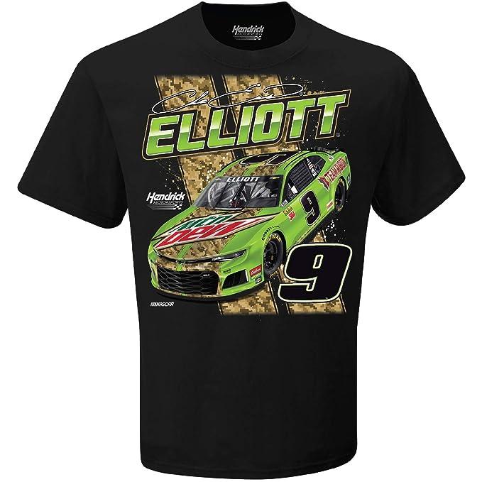 Chase Elliott T Shirt >> Checkered Flag Chase Elliott 2019 Mtn Dew Nascar T Shirt