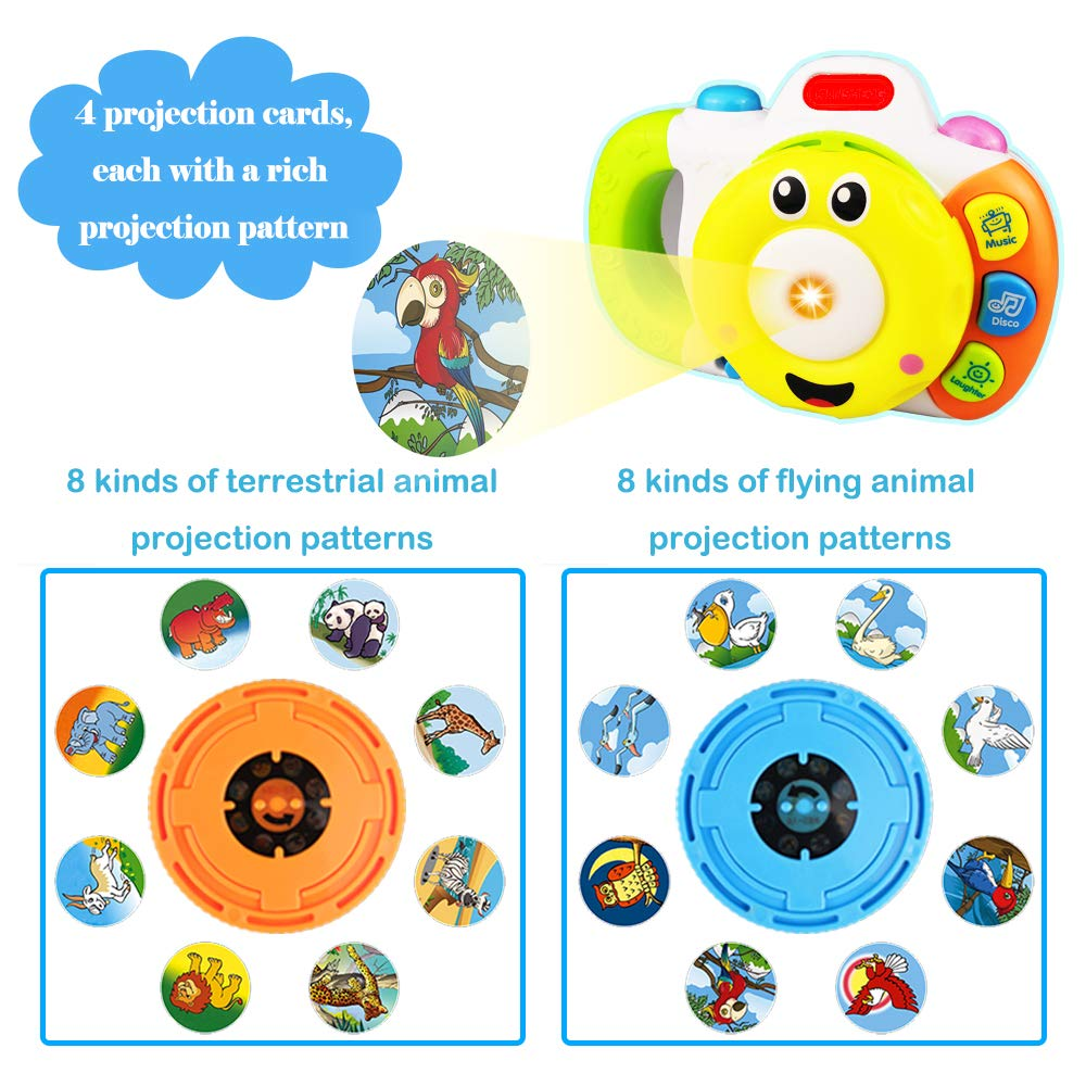 Best Gift Yita Camera Toy for 1-6 Year Old Kids
