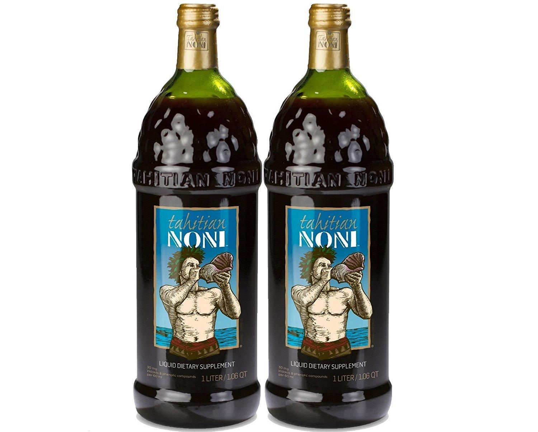 TAHITIAN NONI Juice by Morinda 2PK Case, Two 1 Liter Bottles per Case