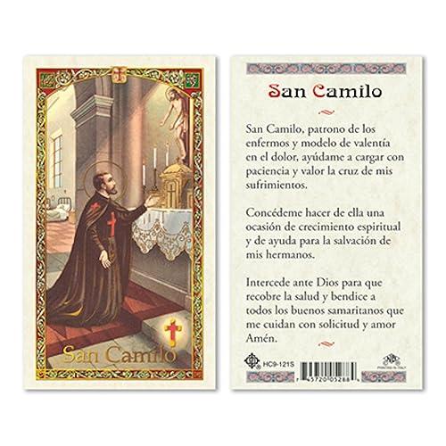 Amazon.com: Español St Camillus – Tarjetas de oración Prayer ...