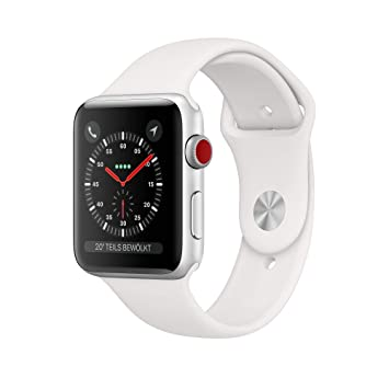 Apple Watch Series 3 Reloj Inteligente Plata OLED Móvil GPS (satélite): Amazon.es: Electrónica