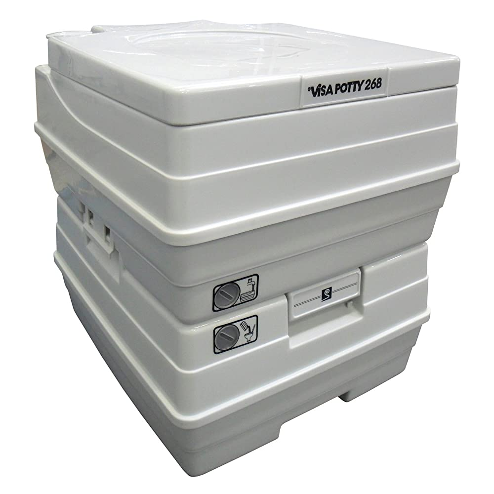 Sanitation Equipment Visa Potty Model: 268 24 Liter with 2-level Indicators