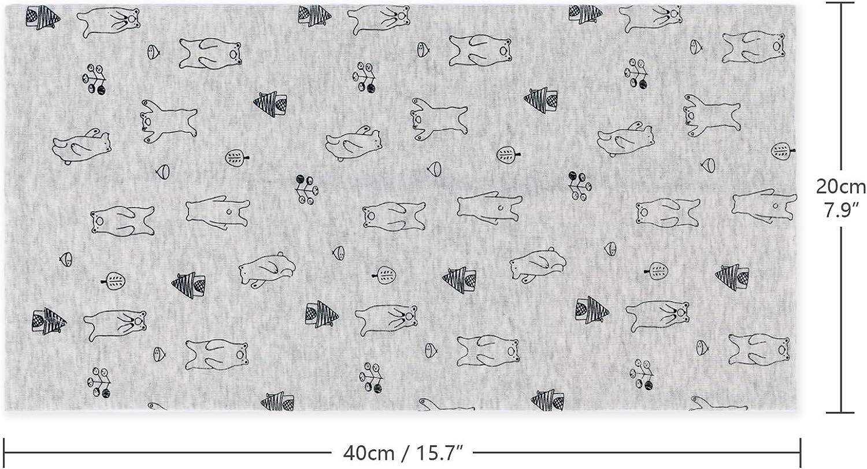 Adorel Baby Loop-Schal Baumwolle Halstuch Warm 3er-Pack