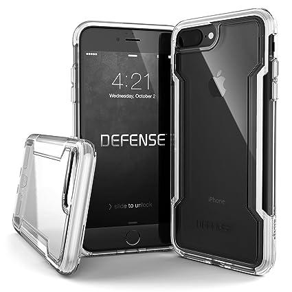 info for 7bbce 6c513 X-Doria iPhone 8 Plus & iPhone 7 Plus Case, Defense Clear Series - Military  Grade Drop Protection, Clear Protective Case for iPhone 8 Plus & 7 Plus ...