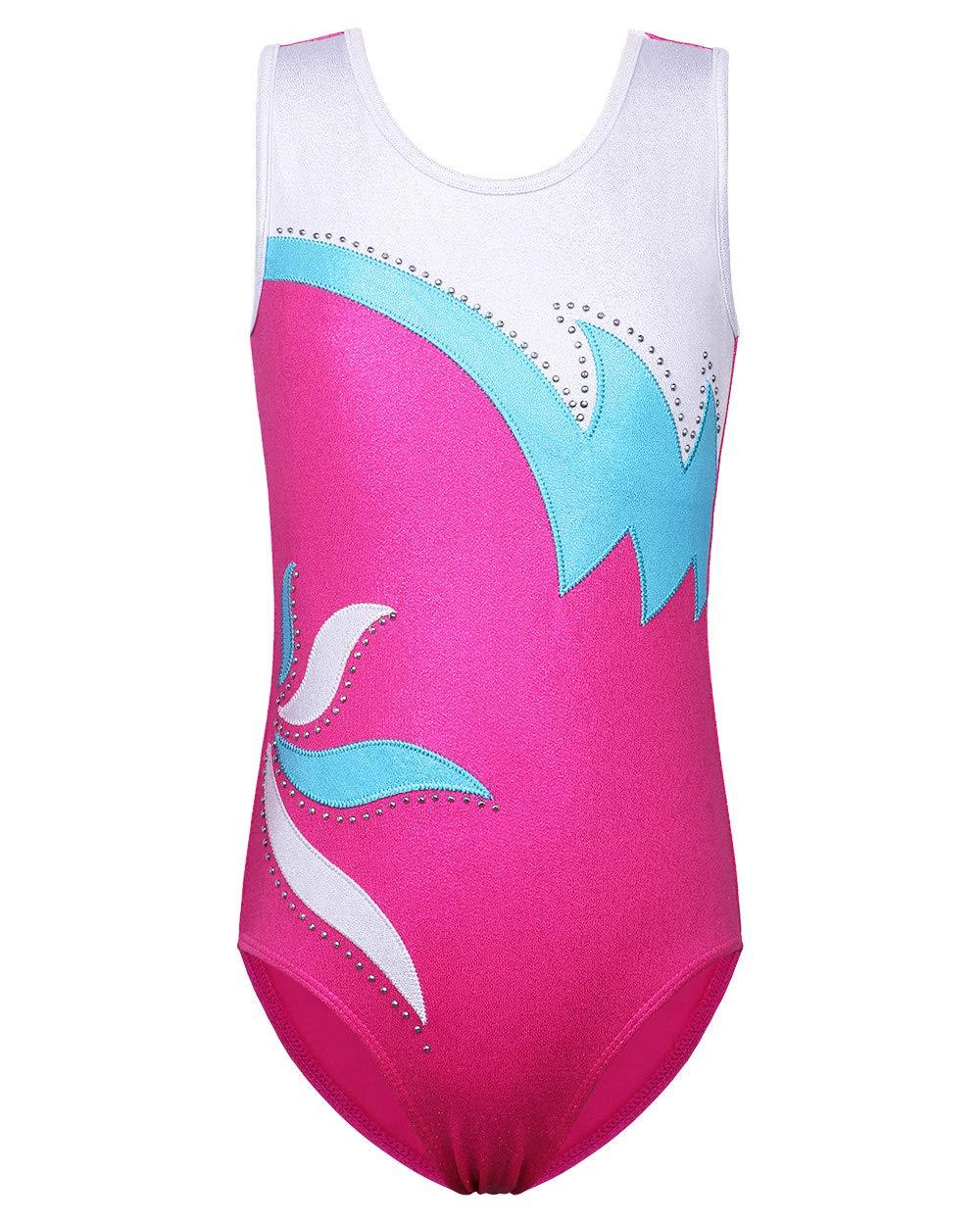 Papaval Girls Kids Cap sleeve Leotard Children Sport Dance Ballet or Gymnastics Leotard