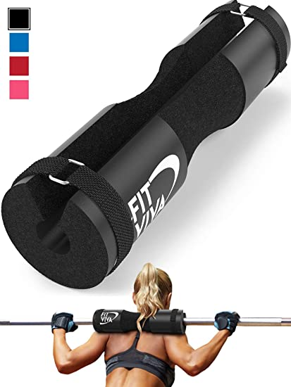 Weight Lifting Fitness Barbell Squat Pad Thick Heavy Duty Foam Support