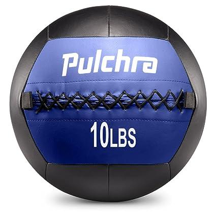 Pulchra Balón medicinal con peso para lanzar contra la pared, de ...