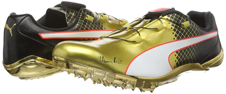 c5e27516ef0f Puma Adults  Evospeed DISC Bolt Tricks Running Shoes