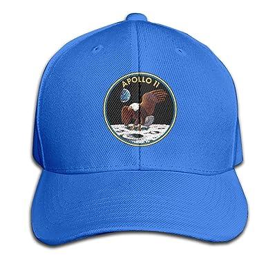 Gorra de béisbol Unisex con diseño de GLR, Apollo 11 Mission DIY ...