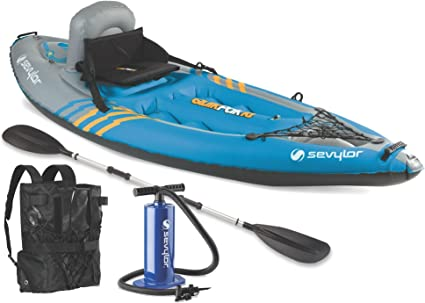 Amazon.com: Kayak Sevylor Quikpak K1 para 1  ...