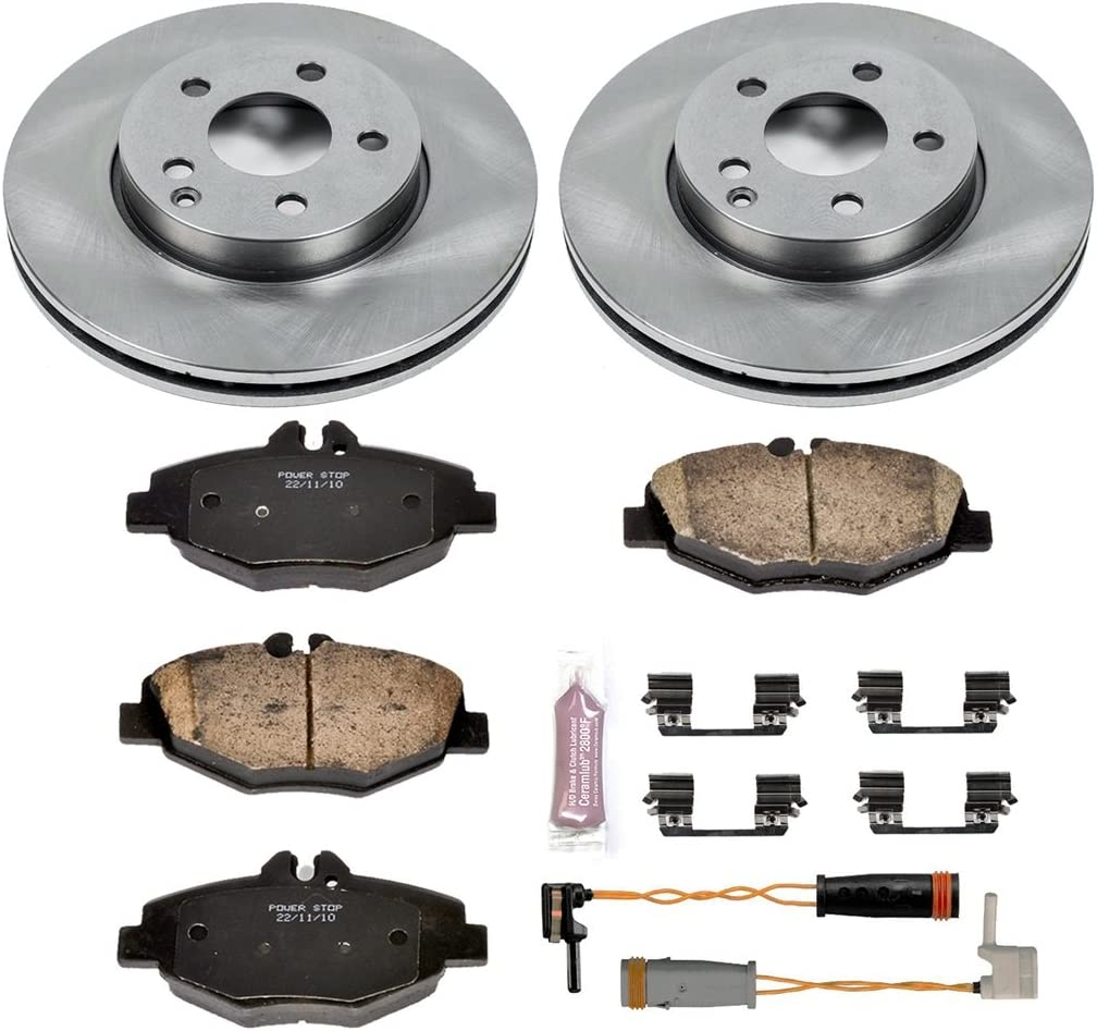 Autospecialty KOE5327 1-Click OE Replacement Brake Kit