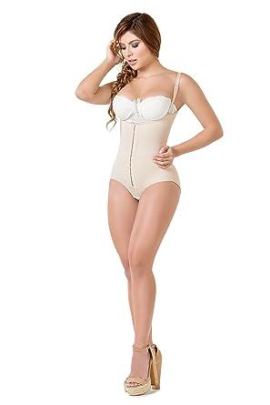 e267c17efa921 Body Flex Fajas Colombianas Reductoras y Moldeadoras High Compression  Garments After Liposuction Bodysuit (Beige