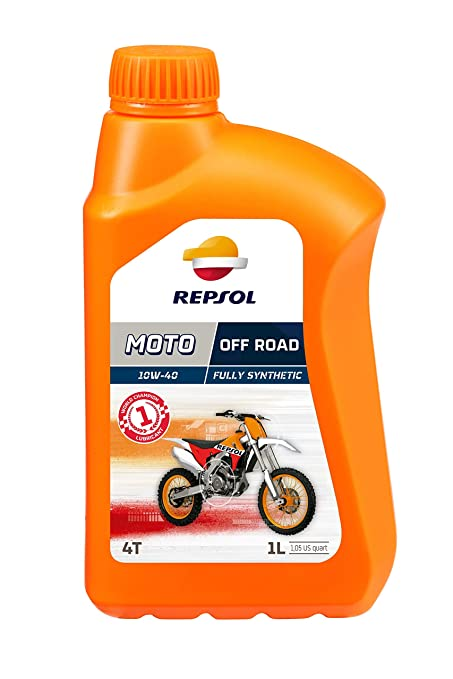 Repsol RP162N51 Moto Off Road 4T 10W-40 Aceite de Motor, 1 L