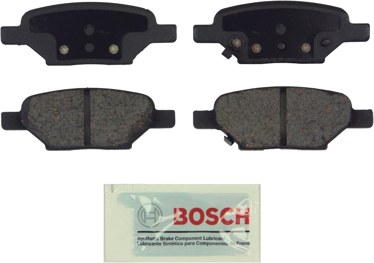 Bosch Brake Pad Sets 2-Wheel Set Front Driver /& Passenger Side New BC1160