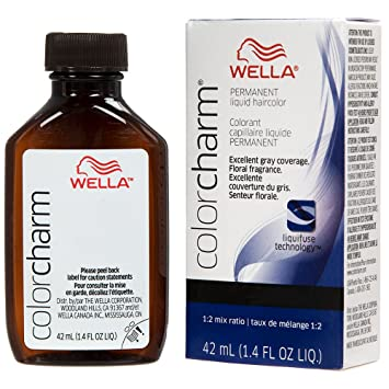Wella Charm Liquid Permanent Hair Color, 12a/1210 Frosty Ash
