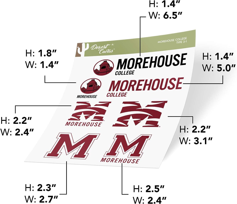 4 Inch Set Morehouse College Sticker Vinyl Decal Laptop Water Bottle Car Scrapbook