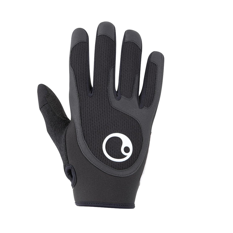 Ergon HA2 schwarz Fahrrad Handschuhe Langfinger MTB Griffe, 46000471